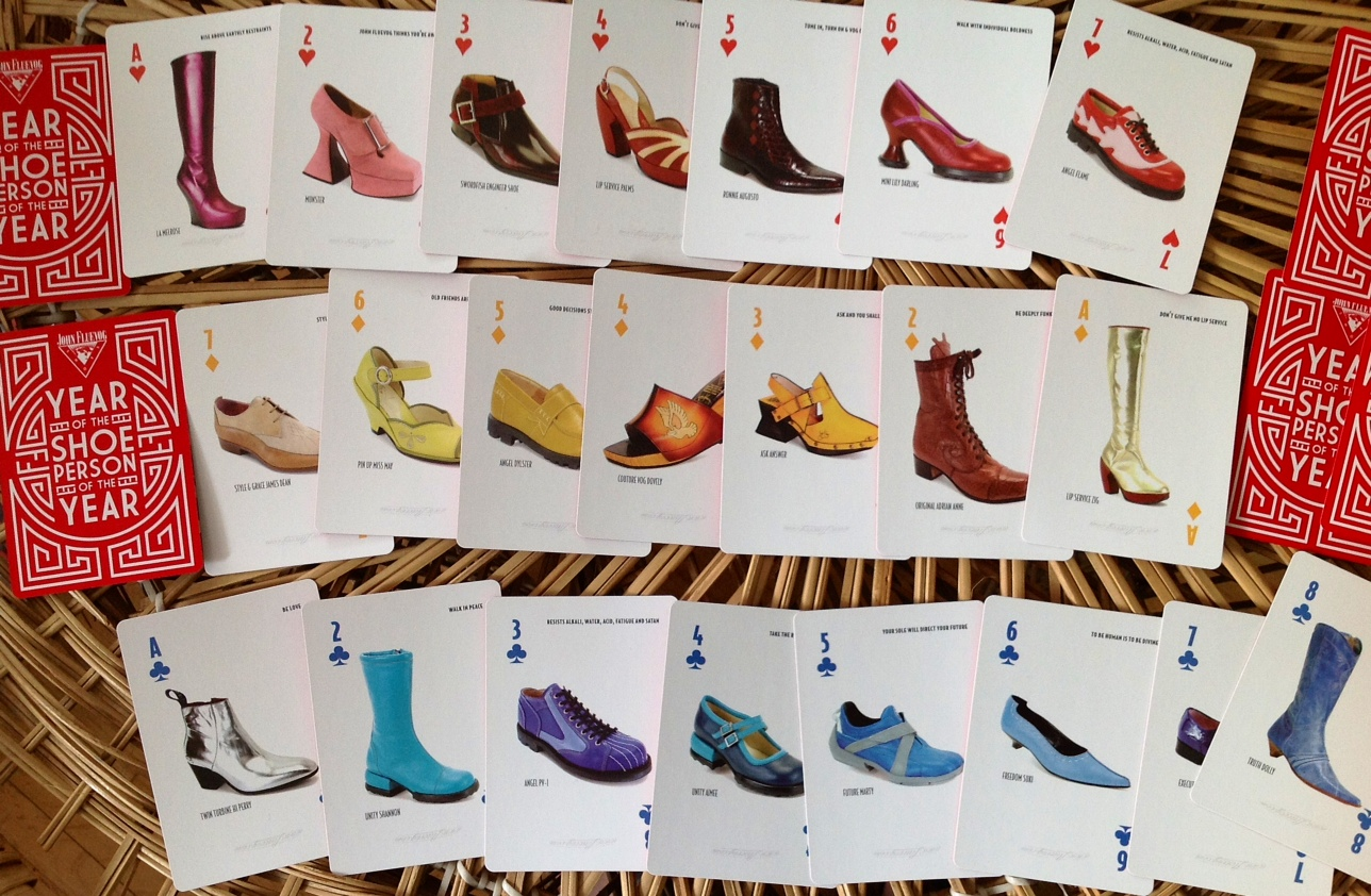 cf9359c4ce5f If you love shoes you will love this card deck