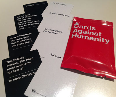 5 Cards Against Humanity 15 Most Bizarre Promotional Items Ever