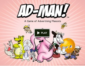 ad man custom card game 300x233 Ad Man kickstarter project is a game for people who love advertising
