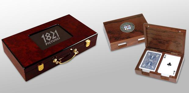 Custom Wooden Playing Card Boxes