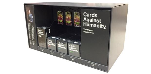hero retail display cards against humanity 2