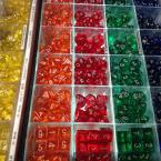 Custom Board Game - Clear Dice