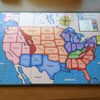 Custom Board Game - US Map
