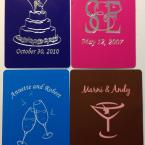 Wedding Custom Playing Cards - Samples 2