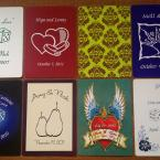 Wedding Custom Playing Cards - Samples 4