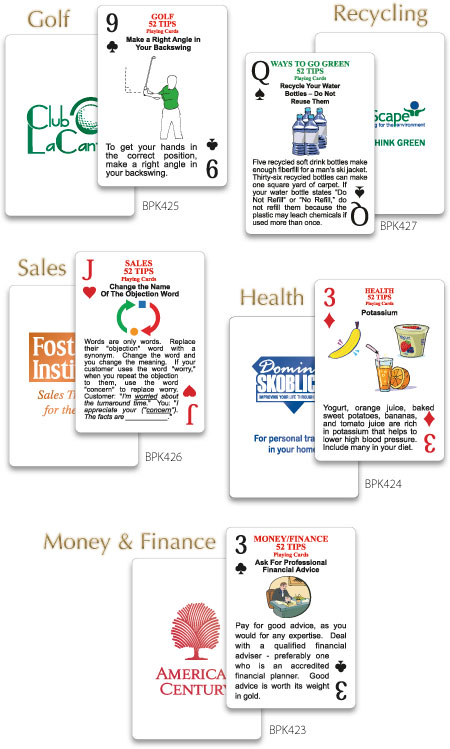 Make Custom Playing Cards Part - 21: Custom Playing Cards - 52 Tips