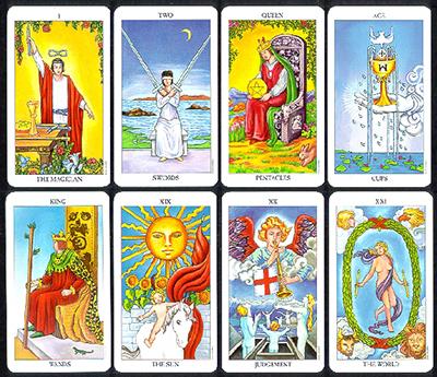 image relating to Printable Tarot Cards titled Custom made Tarot Playing cards » AdMagic