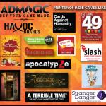 Games Ad Magic has printed